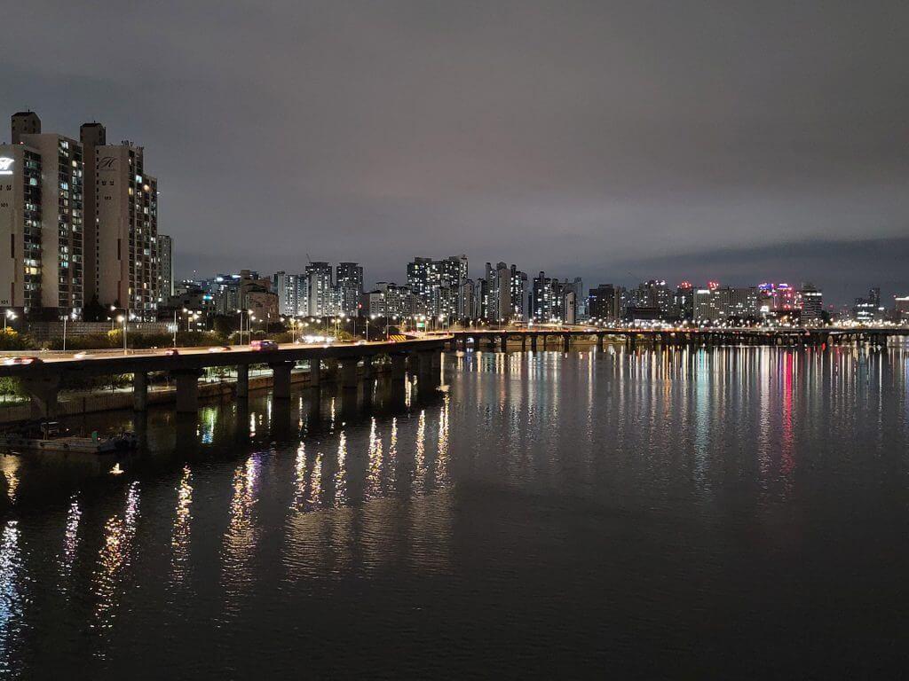 강변북로 사진